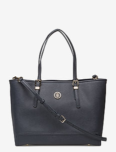 HONEY MED TOTE - fashion shoppers - tommy navy