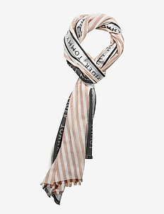 TOMMY SELVEDGE SCARF - ROSETTE PINK MIX