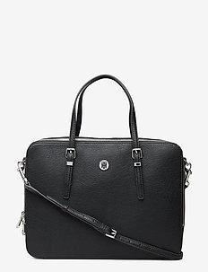 HONEY COMPUTER BAG, - BLACK