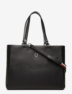TH SMOOTH TOMMY SATCHEL - BLACK MIX