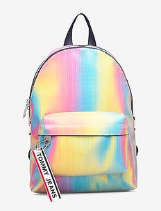 TJW LOGO TAPE MI BAC - backpacks - rainbow holo