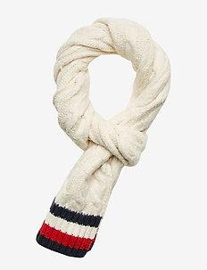 CABLE KNIT SCARF, TF - huivit - corporate