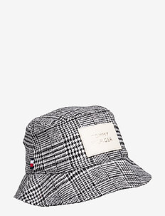 LEATHER PATCH BUCKET - POW