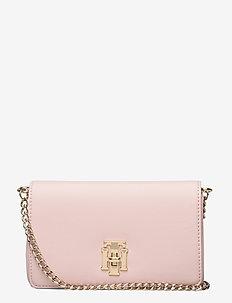 TH LOCK MINI XOVER - shoulder bags - sepia rose