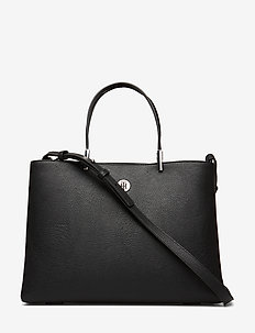 TH CORE SATCHEL - handtassen - black