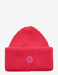 TH RICH LOGO BEANIE - bonnets - bright jewel