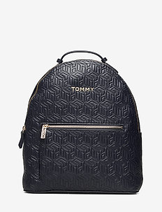 ICONIC TOMMY BACKPAC - backpacks - t. navy embossed monogram