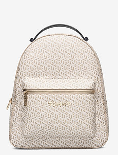 ICONIC TOMMY  BACKPACK MONOGRAM - neutral