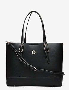 HONEY MED TOTE - top handle - black