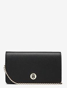 HONEY MINI CROSSOVER - shoulder bags - black