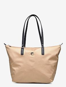 POPPY TOTE - casual shoppers - classic khaki