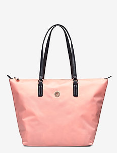 POPPY TOTE - casual shoppers - island coral