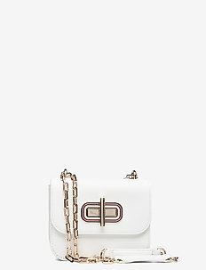 TURNLOCK MINI CROSSO - skuldertasker - bright white