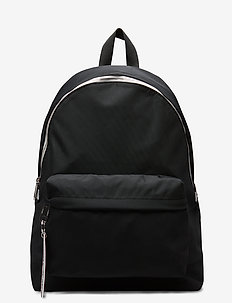 TJW LOGO TAPE BACKPACK NYL - rygsække - black