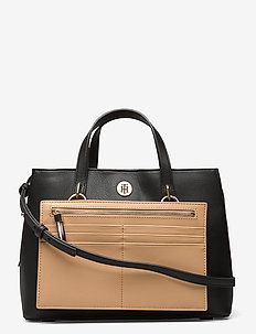 CHARMING TOMMY MED WORK BAG - handtassen - black