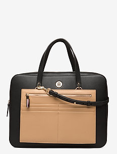 CHARMING TOMMY COMP BAG - laptop-tassen - black