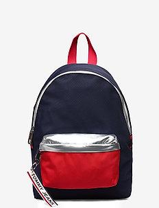 TJW LOGO TAPE MINI BACKPACK CB - rucksäcke - corporate