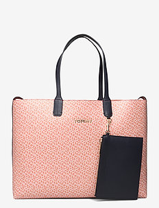 ICONIC TOMMY TOTE MO - fashion shoppers - island coral