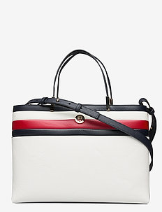 TH CORE SATCHEL CORP - top handle - corporate white