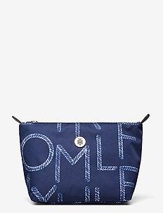 POPPY WASHBAG PRINT - torby kosmetyczne - rope print