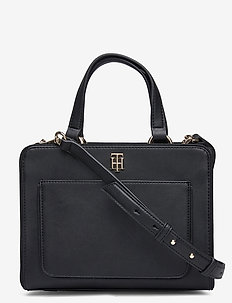 TH CITY SATCHEL - skuldervesker - black