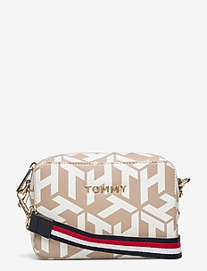 ICONIC TOMMY CAMERA BAG MONO - skuldervesker - neutral monogram mix