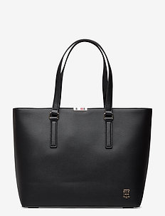 SAFFIANO TOTE - fashion shoppers - black