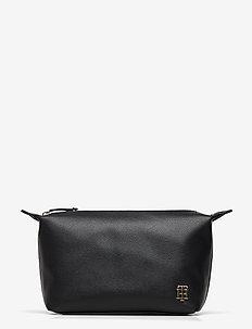 SAFFIANO WASHBAG - torby kosmetyczne - black