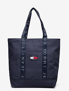 TJW HERITAGE TOTE - casual shoppers - twilight blue
