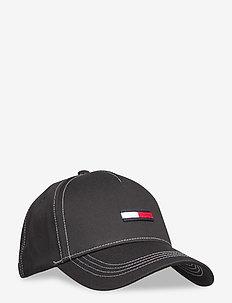 TJW FLAG CAP - czapki - black