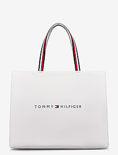 TOMMY SHOPPING BAG - fashion shoppers - bright white