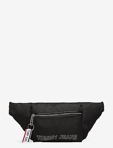 TJW LOGO TAPE BUMBAG - bæltetasker - black
