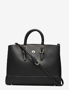 HONEY WORKBAG - handväskor - black
