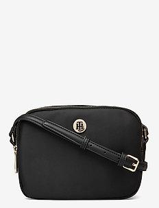 POPPY CROSSOVER - shoulder bags - black