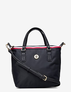 POPPY SMALL TOTE CORP - top handle - corp sky captain