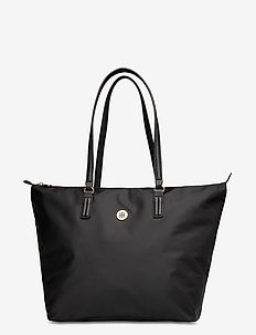 POPPY TOTE SOLID - shoppers - black