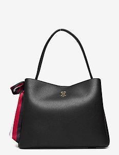 CHARMING TOMMY HOBO - handväskor - black