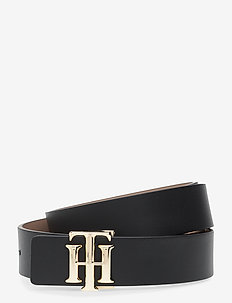 TH LOGO REVERSIBLE BELT 3.0 - skärp - black / oakmont