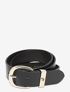 OVAL BUCKLE 3.5 - ceintures - black