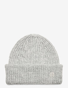 TH EFFORTLESS BEANIE - mutsen - light grey heather