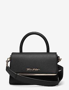 TOMMY MODERN BAR BAG STRAP - handväskor - black