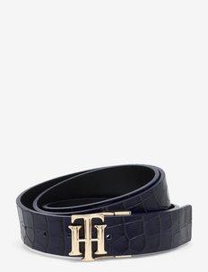 TH LOGO REV 3.0 - belter - blue croco / black