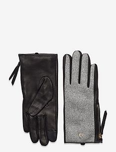 TH ELEVATED MIX GLOVES - hansker - grey mix