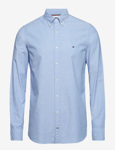 CORE STRETCH SLIM OXFORD SHIRT - oxford shirts - shirt blue