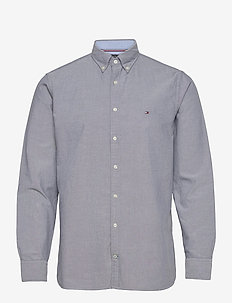 SANDWASHED OXFORD SHIRT - basic skjorter - black iris