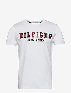 WCC HILFIGER OUTLINE - kortermede t-skjorter - bright white