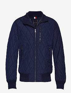 DIAMOND QUILTED BOMB - MARITIME BLUE