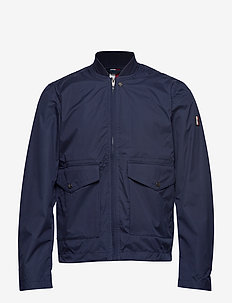STRETCH FIELD BOMBER - MARITIME BLUE