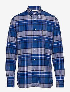CLASSIC TARTAN SHIRT - ternede skjorter - sodalite blue / navy blazer /