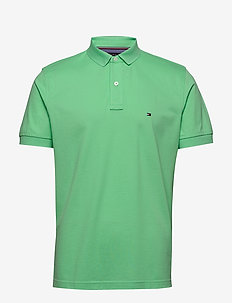 TOMMY REGULAR POLO - korte mouwen - mystic mint